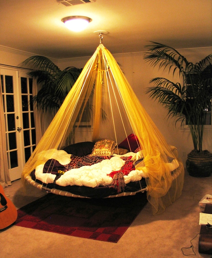 Canopy-hanging-bed
