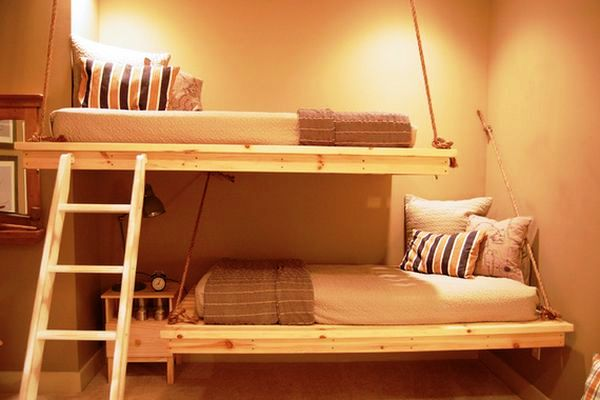 bunk-beds-hanging-for-teenage-room