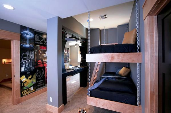 hanging-bunk-beds-for-4-kids