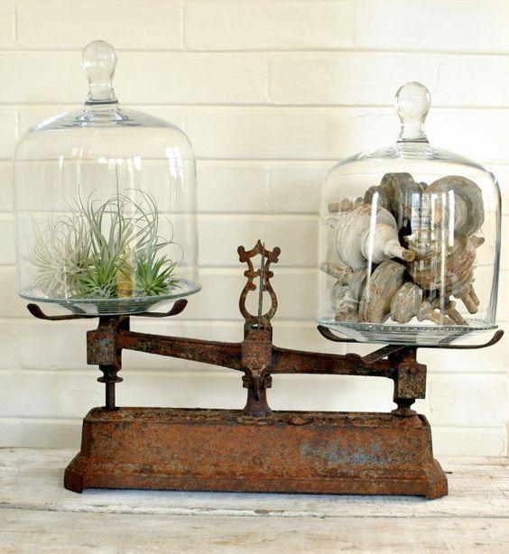 Obiecte vechi pentru accente vintage în bucătărie
