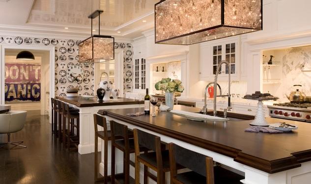 10 locuri unde poţi pune tapet în bucătărie