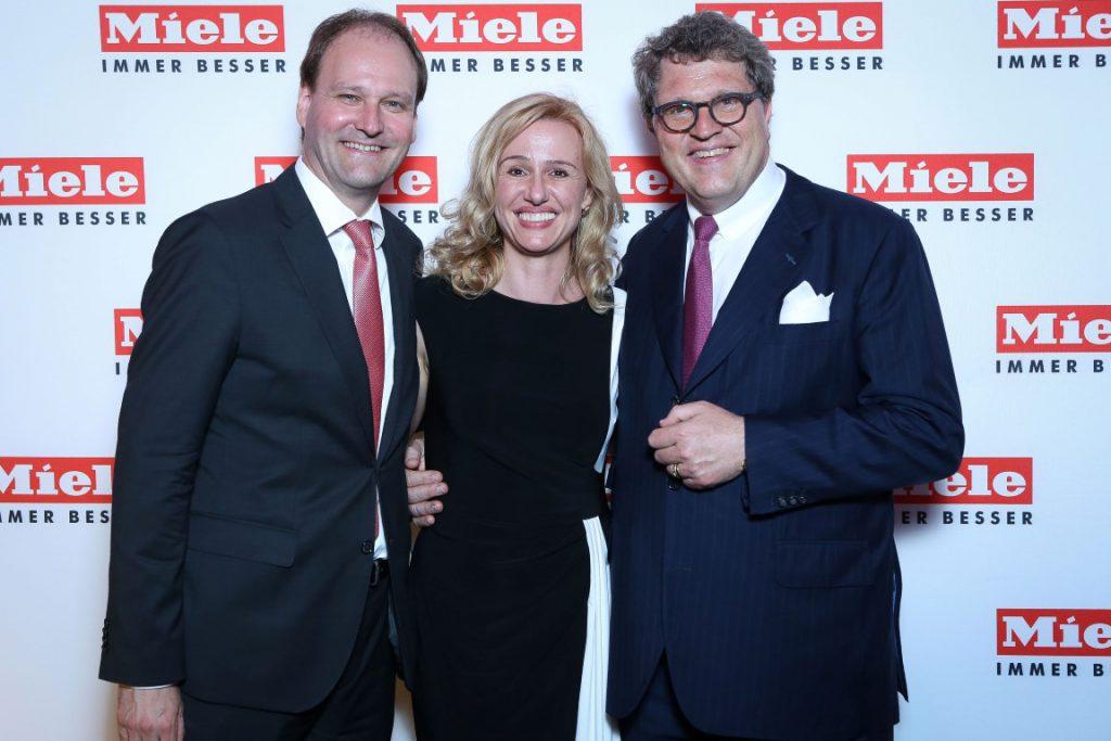 Dr. Markus Miele, Loredana Butnaru-Miele Romania, Dr. Reinhard Zinkann (Medium)