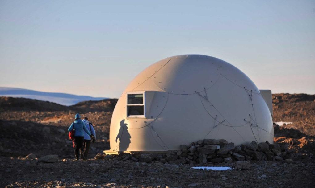 Spectaculos: Cum arată o tabără de lux la ... Polul Sud