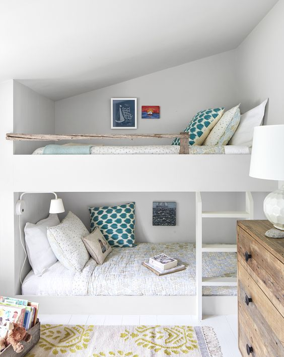 Cele mai frumoase idei de paturi supraetajate pentru copii