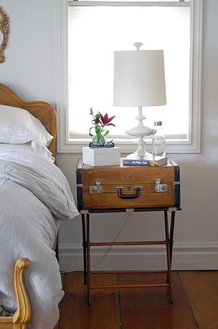 Cinci moduri spectaculoase pentru folosirea valizelor vechi