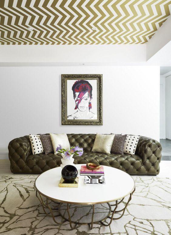 Cel mai spectaculos mod de a folosi tapetul acasă