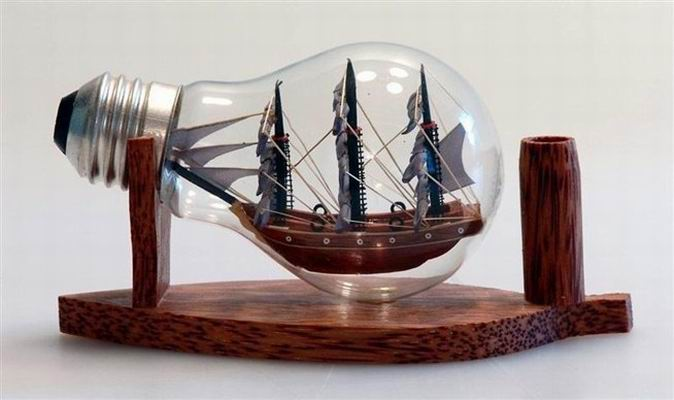 Nava in sticla