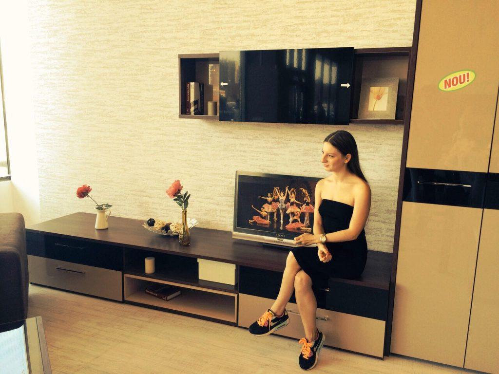 interior magazin LEMS, mobila living