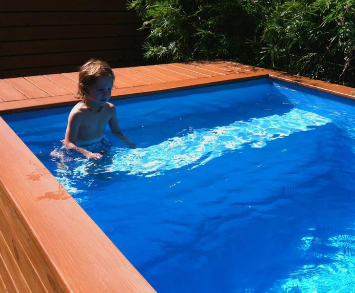 Arhitectul stefan beese construie te o piscin dintr un container - Piscina container ...