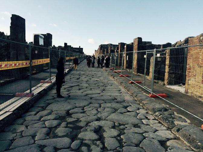 strada în Pompei