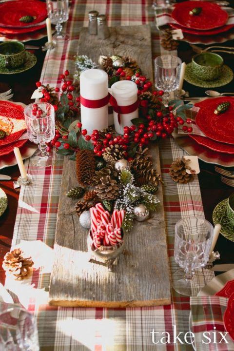 Idei Pentru Decorul Mesei De Crăciun Casoteca