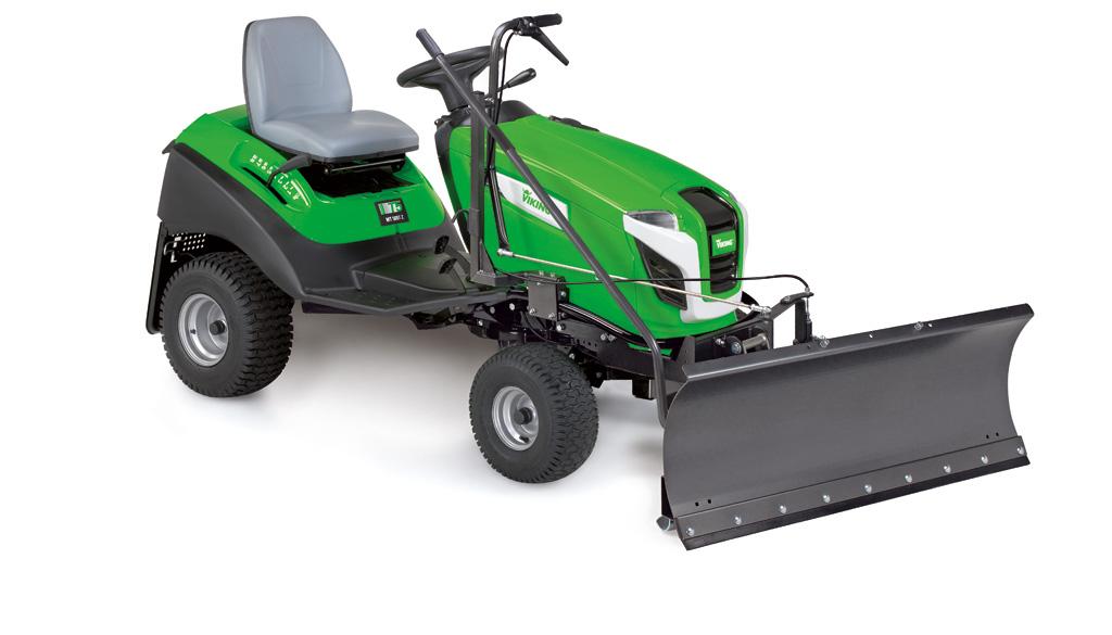 tractoras de tuns iarba cu lama de zpada