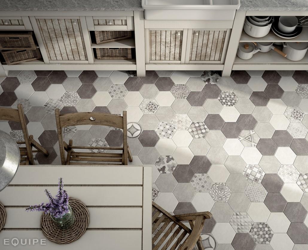 De unde cumperi gresie hexagonală pentru interior