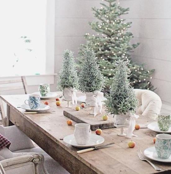 10 Idei De Aranjat Masa De Crăciun Pentru Musafiri