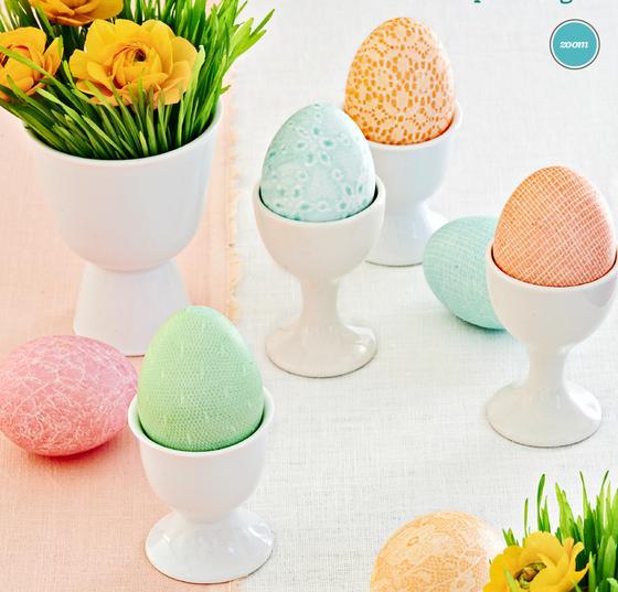 Cinci moduri inedite pentru a decora ouăle de Paști
