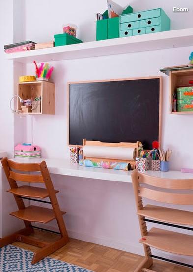 Înapoi la şcoală: cum amenajezi spaţiul de studiu al copilului