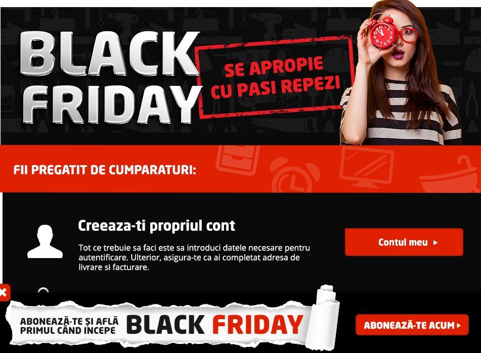 Black Friday la Dedeman, Praktiker şi Romstal