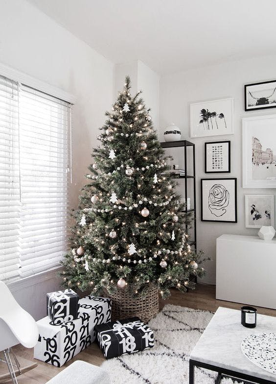 Şase idei inedite pentru împodobit bradul de Crăciun