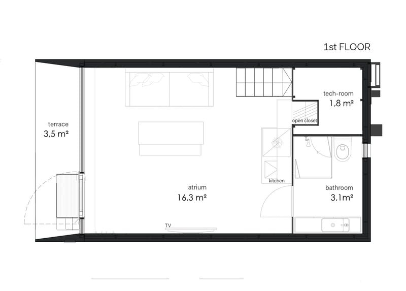 Cât costă și cum arată casă construită într-o singură zi