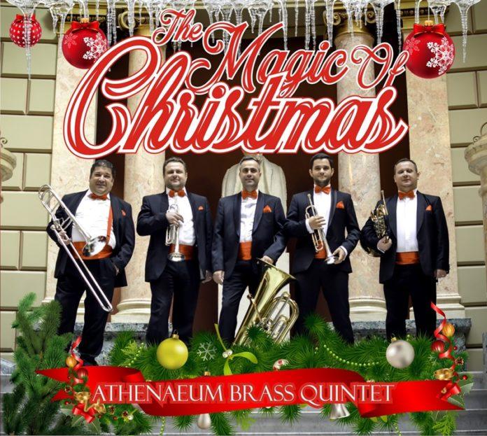 Coperta album colinde Athenaeum Brass Quintet
