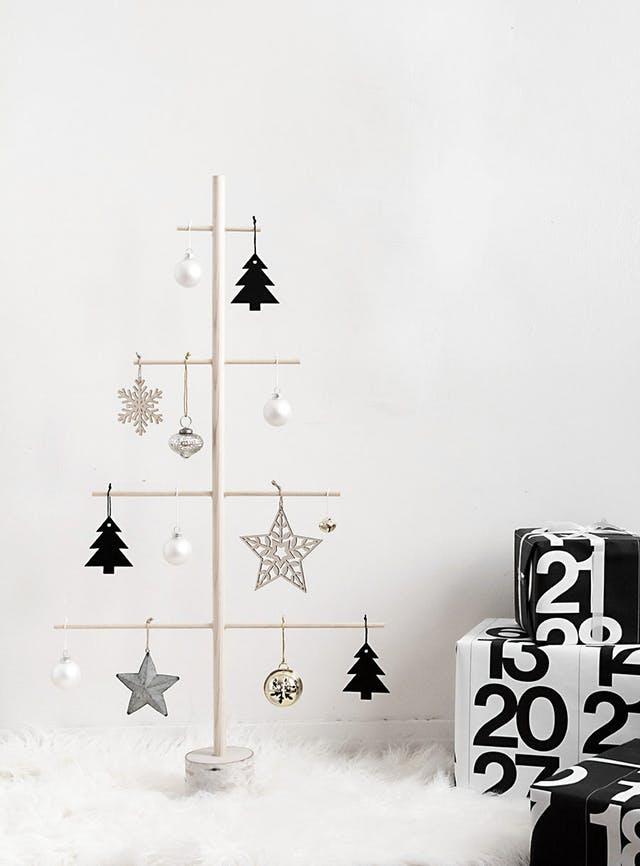 Şapte idei ingenioase de brad de Crăciun fără brad
