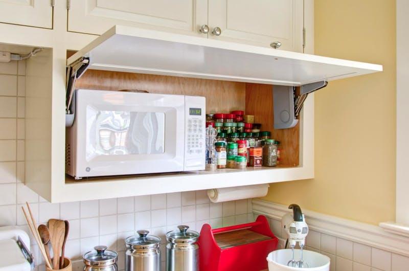 Soluţii pentru a ascunde electrocasnicele din bucătărie