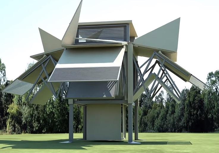 Tehnologie din viitor: casa care se montează în 10 minute