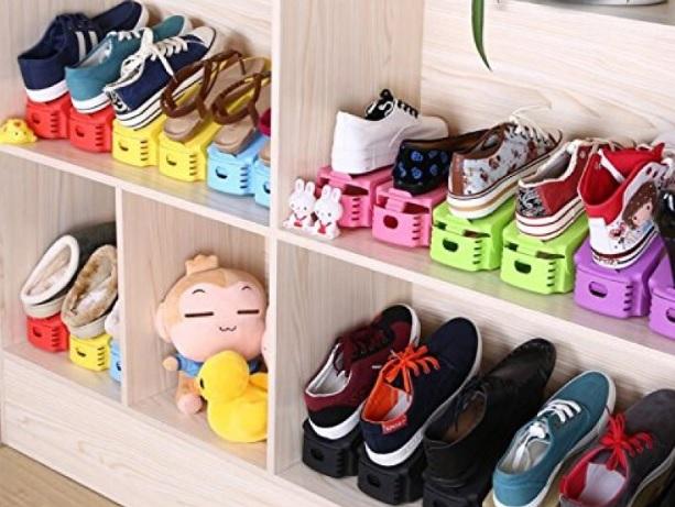 Prea mulţi pantofi? Soluţi ingenioase de organizare