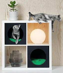 IKEA aduce şi în România colecţia pentru câini şi pisici