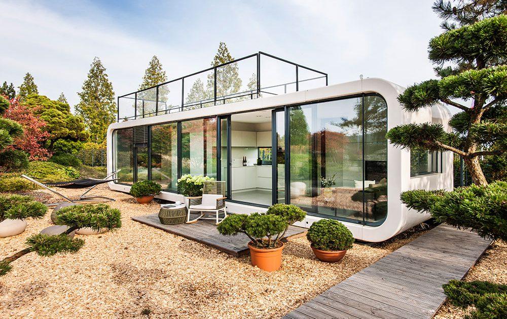 Te muţi oriunde vrei cu această casă ecologică şi portabilă