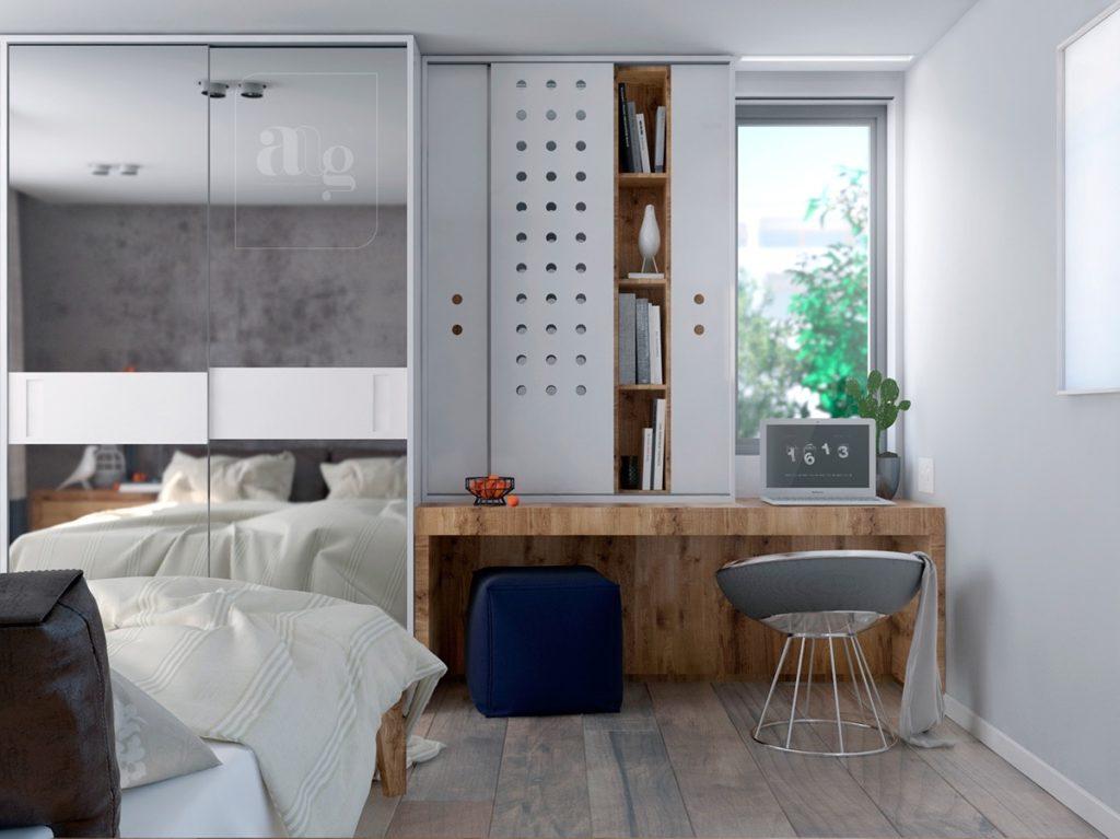 Birouri minimaliste pentru mai multă productivitate și inspirație