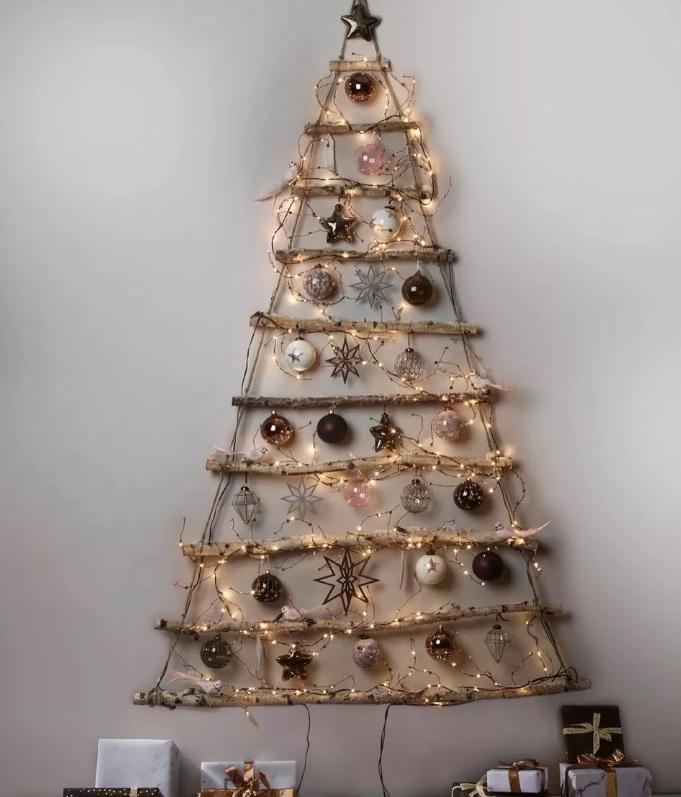 Alternative interesante de folosit în loc de brad de Crăciun