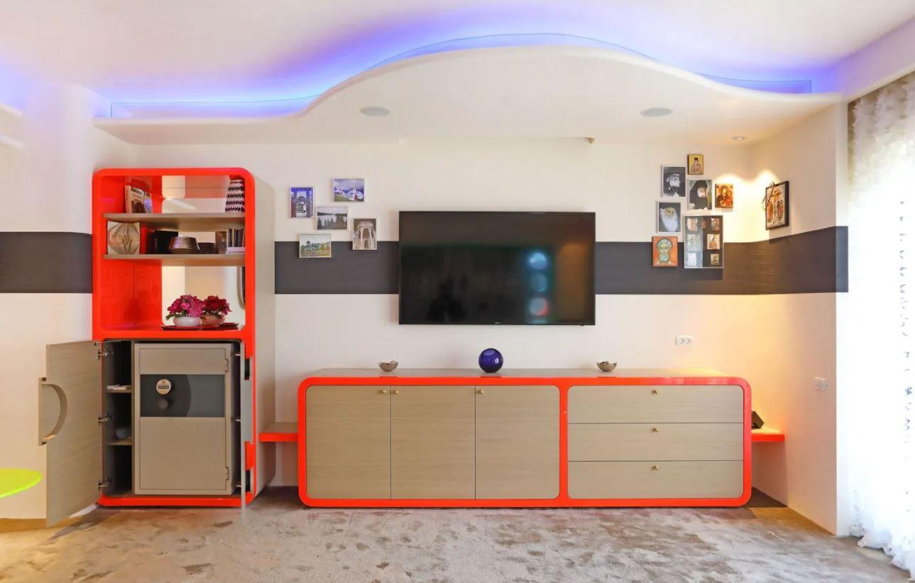 Bucătărie penthouse pop-art, Dorobanti