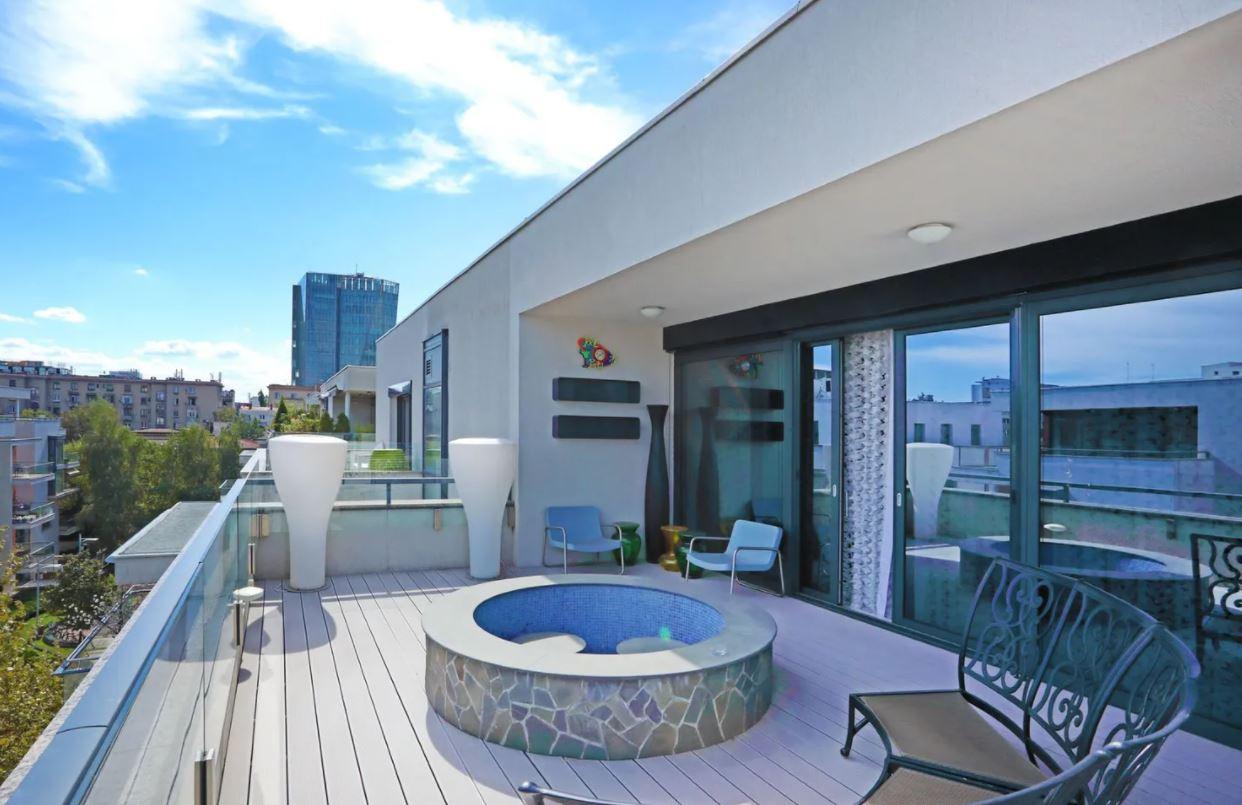 Terasă penthouse pop-art, Dorobanti