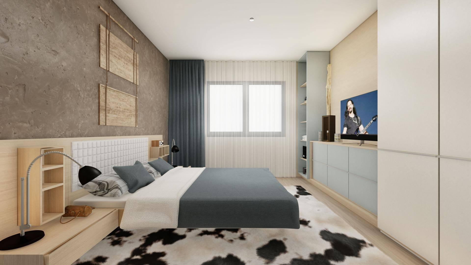 Aqua City , dormitor